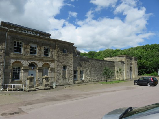 Northleach, UK: outside the prison