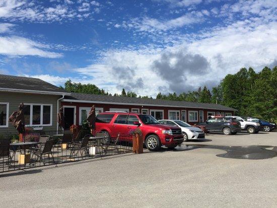 Charlottetown, Canadá: Aussenansicht Clode Sound Motel