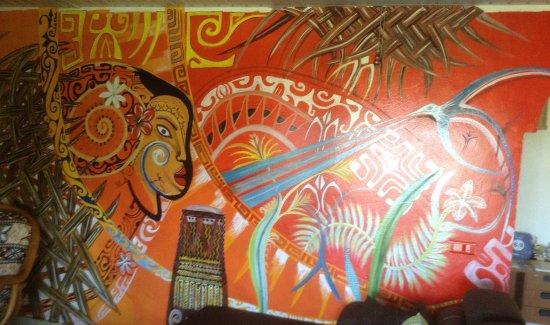 FareHau: Amazing work of art in the sitting room