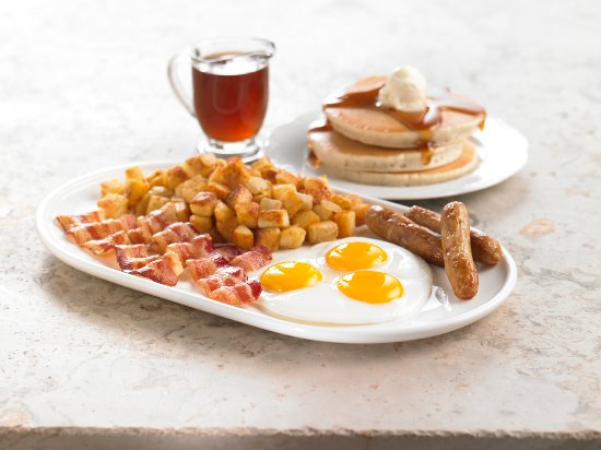 San Ysidro, Kalifornien: Triple Mega Breakfast