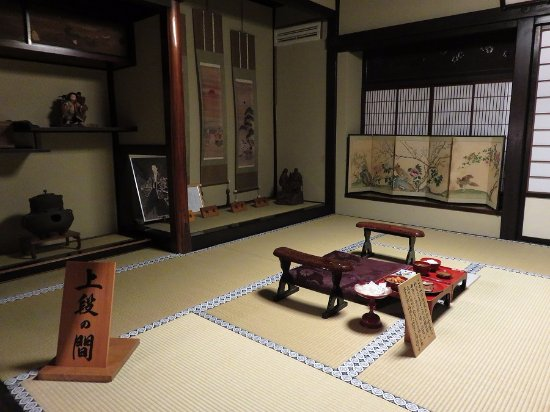 Chousenkaku Kameya: 皇女和宮が泊まった上段の間