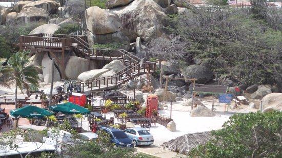 Ayo and Casibari Rock Formations: Uitzicht vanaf ayo rockformatie