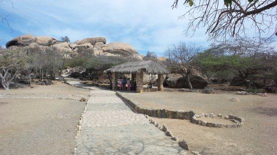 Ayo and Casibari Rock Formations: Zicht op Ayo rockformatie