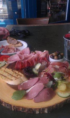 Bexhill-on-Sea, UK: Sharing platter - starters