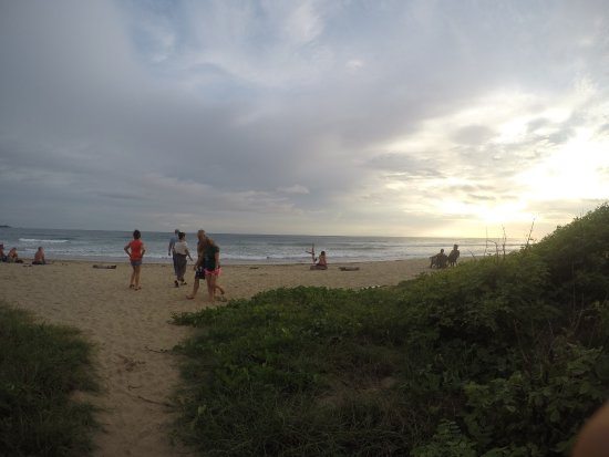 Playa Grande, Costa Rica: Walking distance to the beach.