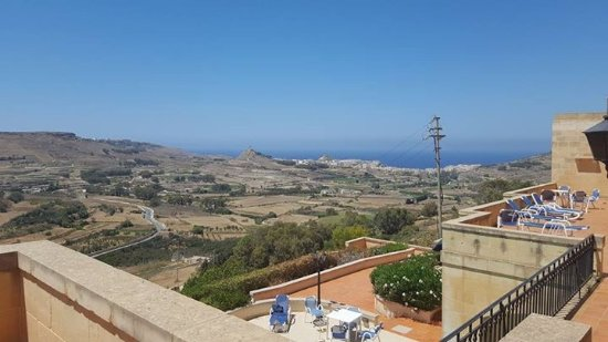 Cornucopia Hotel: View from our terrace (bungalow 11)