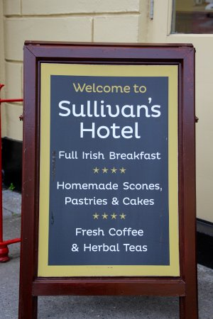 Sullivan's Royal Hotel : They ran out of scones!