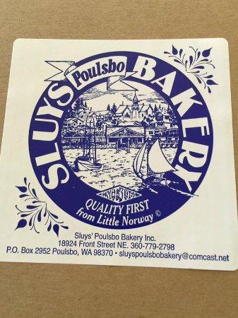 Poulsbo, Вашингтон: Sluys Bakery