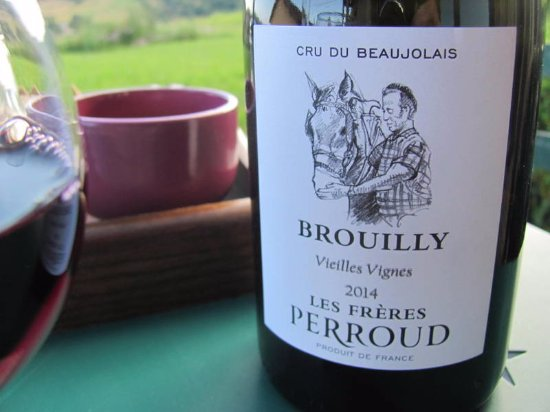 Cogny, France : family made wine