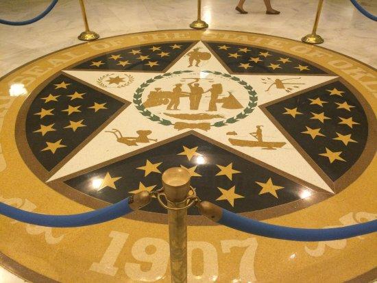 Oklahoma State Seal Picture Of State Capitol Oklahoma City Tripadvisor
