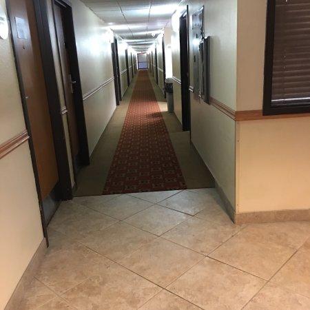 Hamilton, Montana: Long hallway