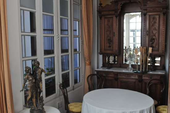 El Hostal de Su Merced: The Dining area of Su Merced - it's one of the prettiest dining areas I've seen!