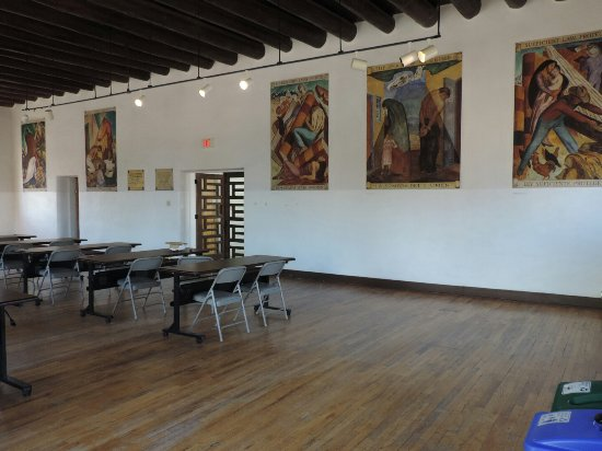 Taos County Courthouse Murals
