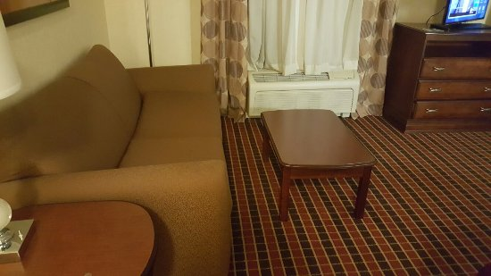 This is a Junior King Suite.   Very roomy and extremely clean