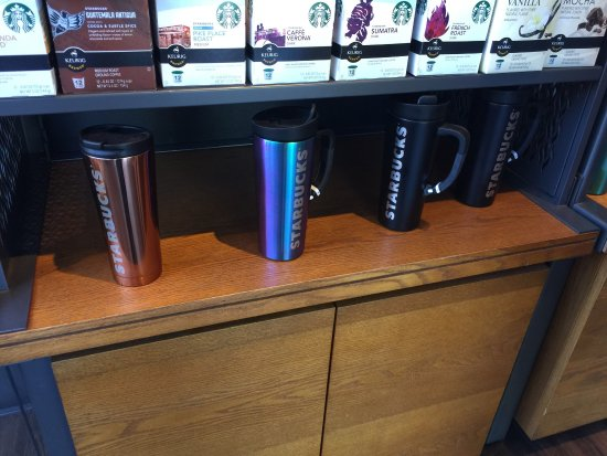 Starbucks: Coffee cups