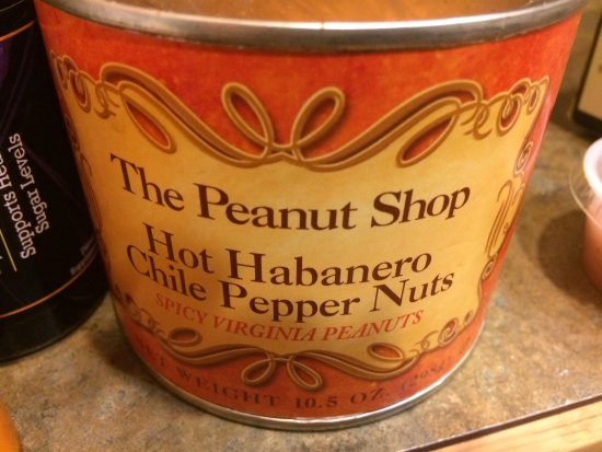 The Peanut Shop: Hot & spicy goodness!
