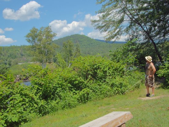 Shelburne, Nueva Hampshire: Breathtaking vista at Timberland's River Walk!