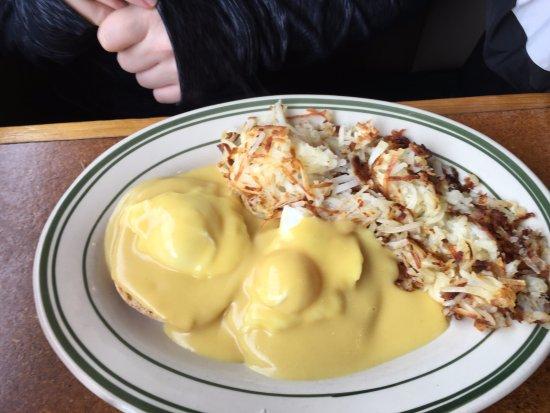 Shelton, Ουάσιγκτον: Eggs with Hollandaise