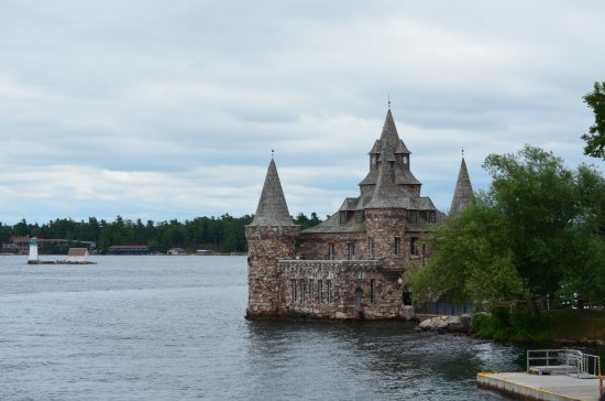 Gananoque, Canada: Boldt Castle. A testament to the American Dream and love lost.