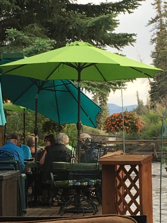 Creede, CO : Riverside dining