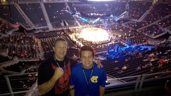 Me and my son at UFC 200! - Picture of T-Mobile Arena, Las Vegas