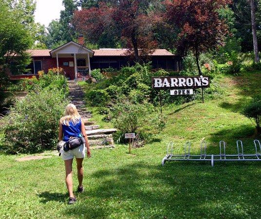 Shepherdstown, Virgínia Ocidental: Ice Cream at Synder's Landing