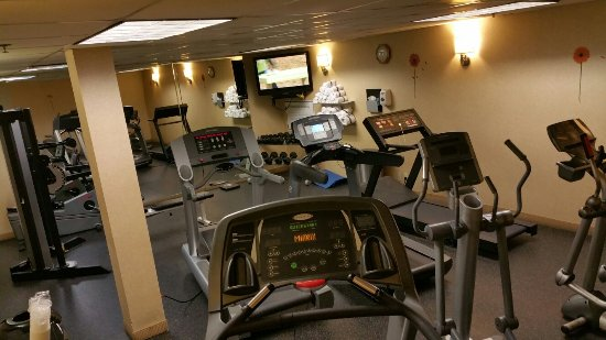 Atrium Hotel & Suites, DFW Airport South: Gym