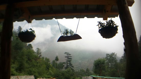 Deori, India: Gone fishing cottages