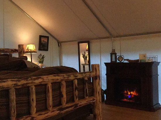 North Forty Resort: Glamping