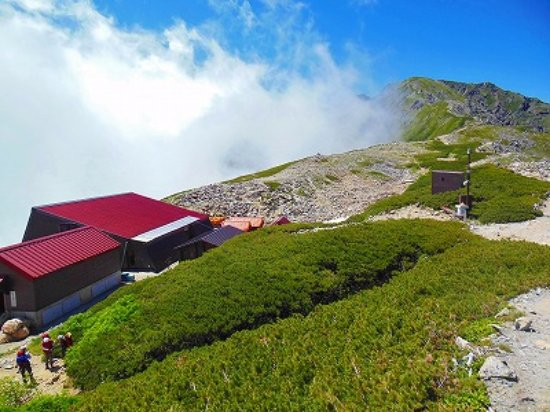Kitadakesanso: 北岳山荘