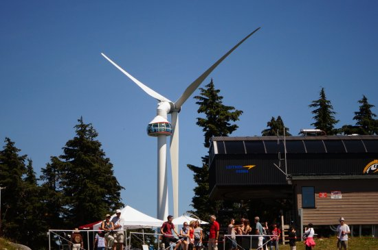 Kuzey Vancouver, Kanada: The 'eye in the sky'
