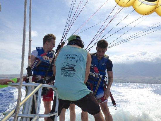 Ka'anapali, Χαβάη: West Maui Parasail - Last Minute Safety Check