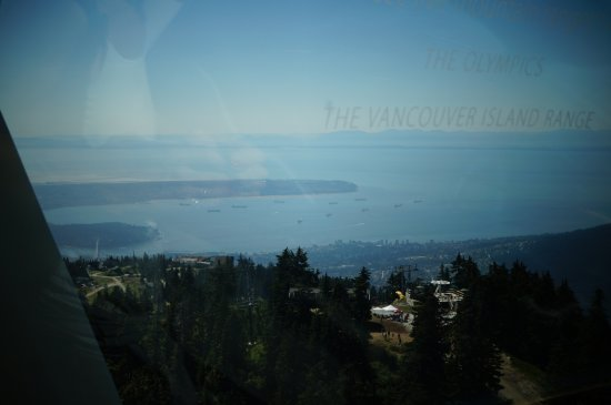 Kuzey Vancouver, Kanada: Another view from the 'eye'
