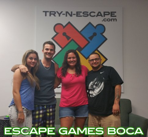 Escape Room Boca Raton >> Try N Escape Com Escape Room Boca Boca S Best Escape Room
