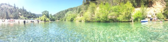 Auburn, CA: panoramic view of lake clementine