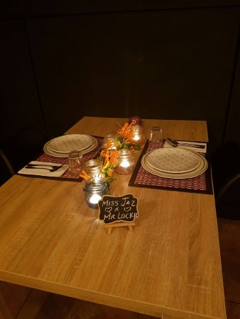 Raymond Terrace, Australië: Romantic table for 2