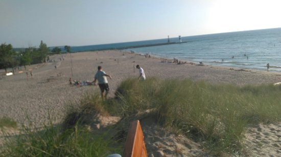 Pentwater, MI: Charles Mears State Park