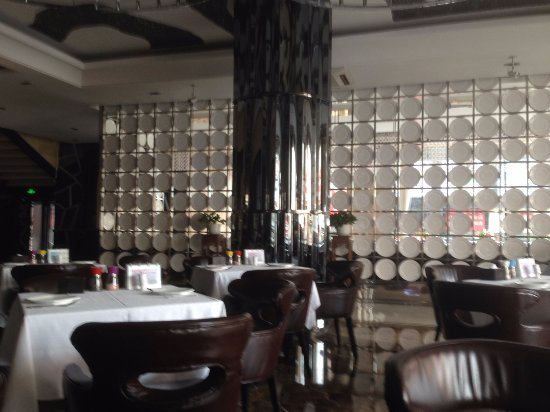 Manzhouli, China: ресторан Максим