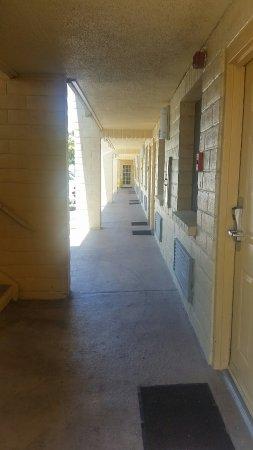 Vista, CA: Hallway
