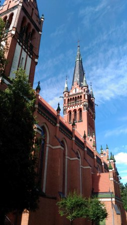 Church of the Sacred Heart of Jesus in Olsztyn