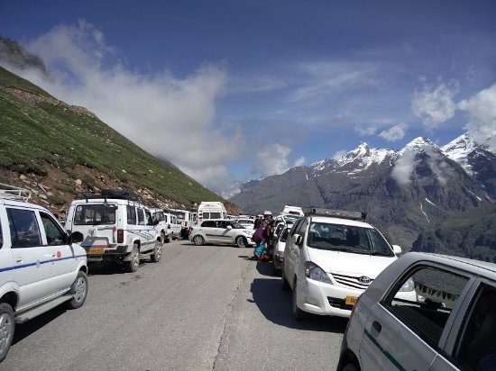 Image result for rohtang pass jam