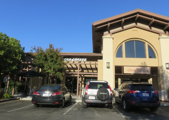 Danville, Califórnia: Starbuck's Coffee at Rose Garden Village