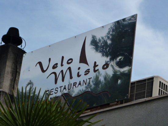 Velo Misto: 店の看板