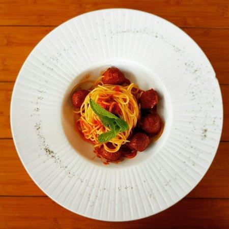 Johor Bahru District, Malásia: Meatball Spaghetti
