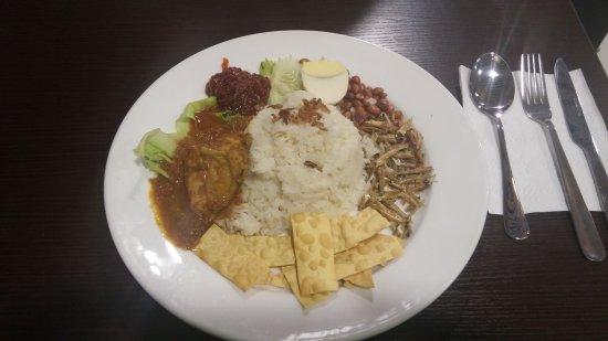 Malaysian Recipe Cafe: Nasi for brekky