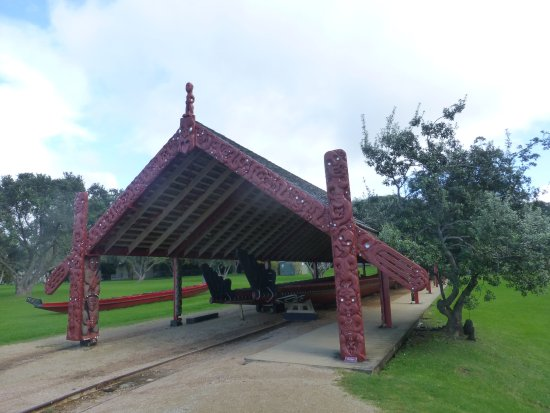 Paihia, Nueva Zelanda: Waka - Maori war boat