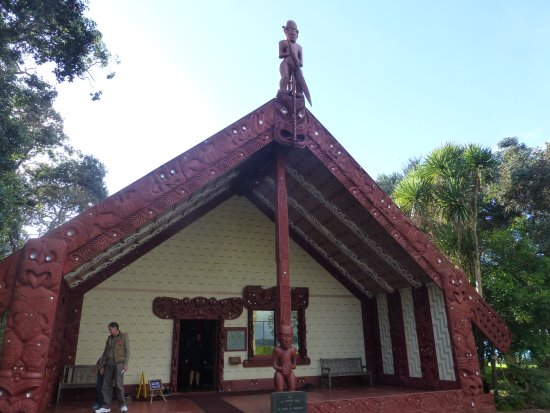Paihia, Yeni Zelanda: Maori house