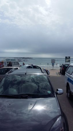 Bloubergstrand, Sydafrika: view from outside