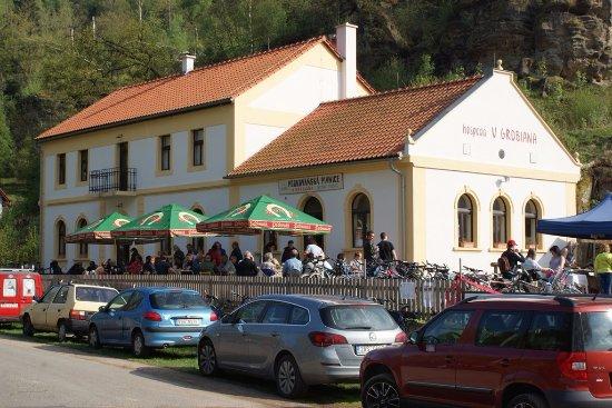 Melnik, Czech Republic: U Grobiana