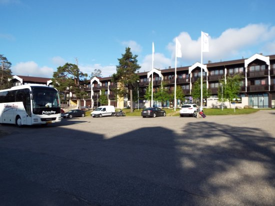 Lapland Hotel Riekonlinna: voorzijde hotel